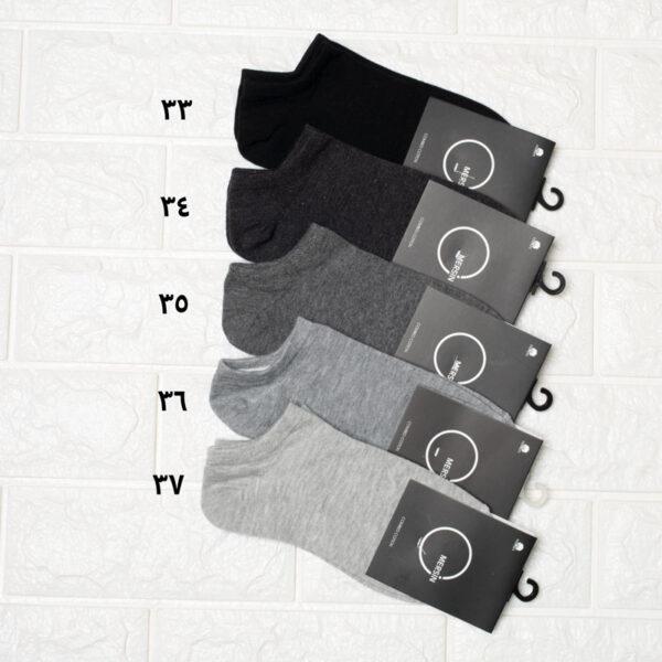 جوراب مچی ساده زنانه