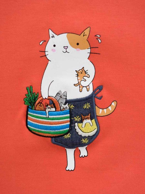 بلوز طرح گربه 4