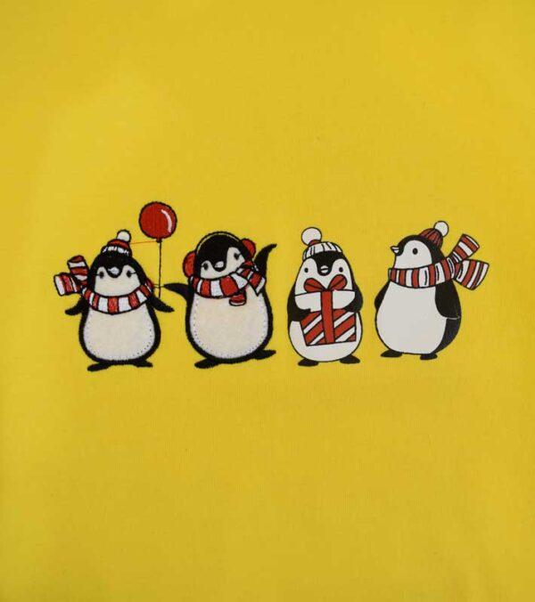 بلوز طرح پنگوئن