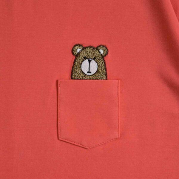 تیشرت جیب دار خرس